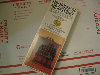 Vintage The House Of Miniatures X-Acto Chippendale Breakfront #40048
