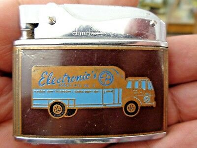 Vintage dundee Lighter iowa Electronics Associate no 9