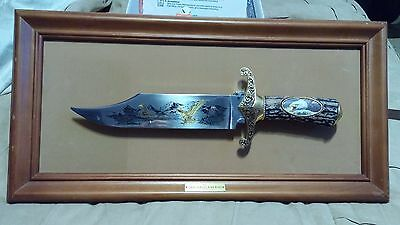 Ronald Van Ruykevelt Franklin Mint The American  Eagle Bowie Knife