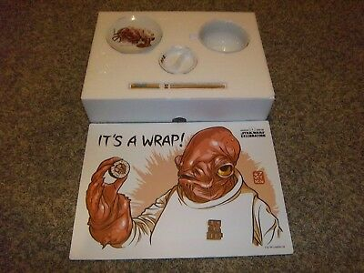 Lucasfilm Star Wars Celebration 2015 Admiral Ackbar It's A Wrap! Sushi Set