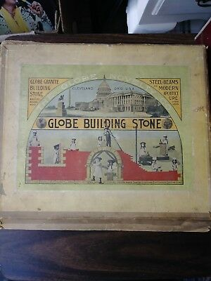Early 1900s Globe Building Stones