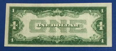 """1928B $1 Blue """"FUNNY BACK"""" SILVER Certificate X717 Choice VF! Old Currency"""