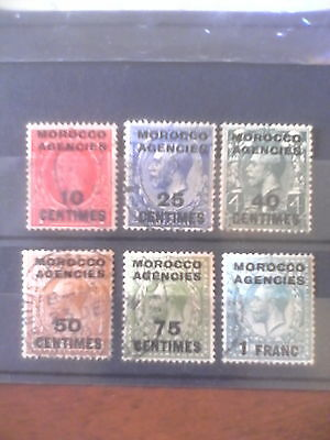 1917 Morocco Agencies French Zone( George V)