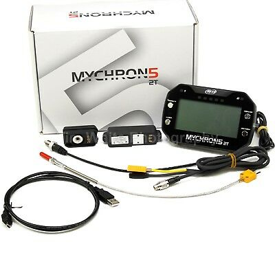 AiM MyChron 5 2T GPS WiFi Water Temp 4Gb Data Acquisition System Racing Lap Time