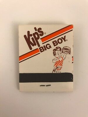 Kip's Big Boy Restaurant Matchbook Unstruck Vintage