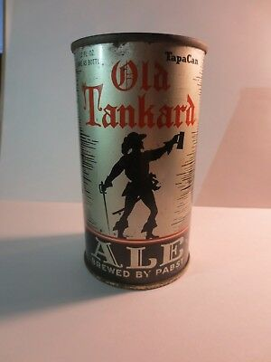 1936 Old Tankard Ale Beer Can OI Milwaukee/Peoria Heights Flat Top