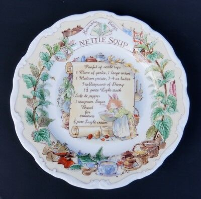 Royal Doulton  BRAMBLY HEDGE Recipe Plate Nettle Soup