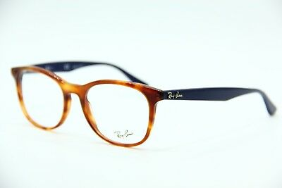 39059621ce4 New Ray-Ban Rb 5356 5609 Havana Eyeglasses Authentic Frame Rx Rb5356 52-19