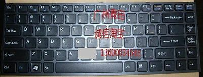 (US) Original keyboard for SONY VPC-Y11M1E/S PCG-51311T US layout frame 3116#