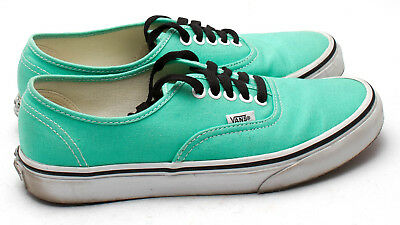 8e7db00764c685 VANS Unisex Authentic Canvas Shoes Mint Seafoam Green Mens 7   Womens 8.5