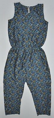 NEXT Girls Summer Floral Jumpsuit Playsuit 10 Years EU 140cm BNWOT