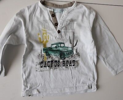 tee shirt manches longues  taille 18 mois