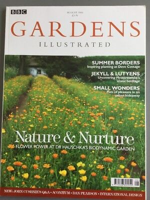 GARDENS ILLUSTRATED AUG 2006, No 116 - Hestercombe, Aconitine, Summer Borders