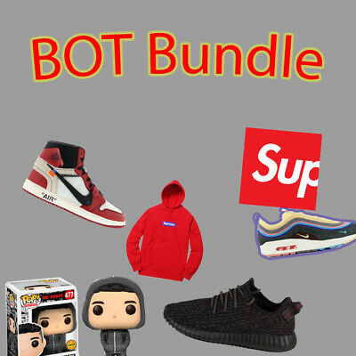 Sneaker Bot Bundle - CyberAIO, ForceCOP, ANB AIO, BNB and more..