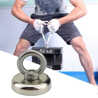 25/37/112KG Recovery Magnet Very Strong Sea Fishing Diving Treasure Hunting AU