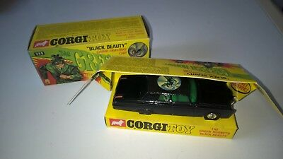 Corgi Toys Green Hornet Black Beauty Mint Boxed Original Box