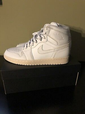 best website 2b441 60f83 Nike Air Jordan 1 Pure Platinum Grey White Off 46 12 11