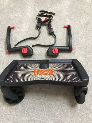 Lascal Maxi Universal Buggy Board With 2 Uncut Connectors And Strap