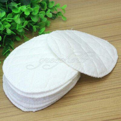 12pcs Reusable Soft Cotton Nursing Breast Pads Washable Absorbent Breast feeding