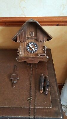 Spare Or Repair Cuckoo Clock