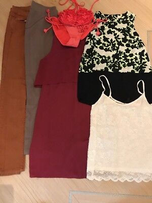Womens/girls Size 8 Joblot Bundle 6 Items New Look River Island Topshop Etc