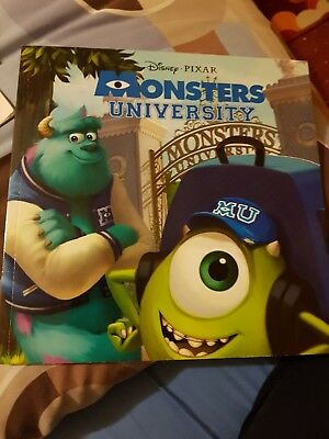Monsters University new official childrens Disney pixar picture book