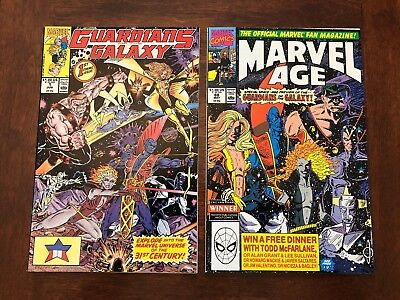 Guardians of the Galaxy 1 (1990) NM! Marvel Age 88 NM! 1st New Guardians! Hot!