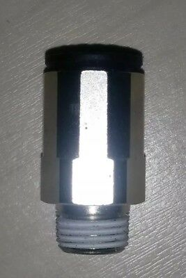 1xLegris Push-In Fitting/MALE STUD COUPLING 8-5/16 to BSPT Thread R1/8 3175 D8mm