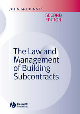 The Law and Management of Building Subcontracts by John McGuinness (Hardback, 20