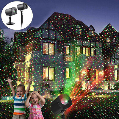 Xmas RGB LED Water Wave Ripple Effect Stage Light Lighting Laser Projector USA M