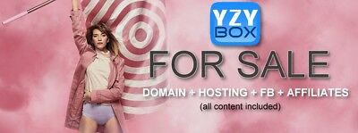 Adult Website + FB account (20000 follows) + Fully featured Affiliates.