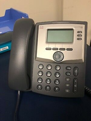 Set of 10 Cisco SPA303-G1 IP Phone with Power Adapter & Bases