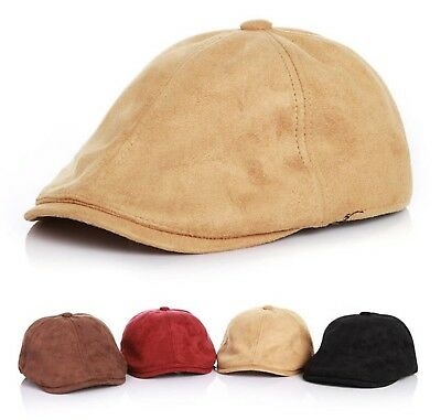 Baby Kid Children Boys French Beret Suede handsome Cabbie Golf Pageboy hat Cap