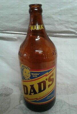 Dads Root Beer Bottle Mamma size 1 QT.