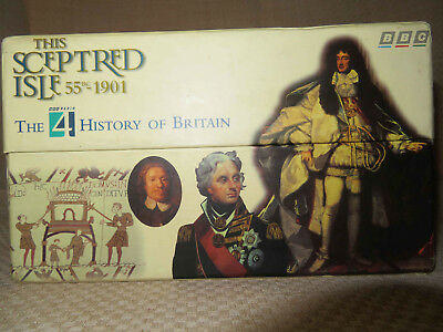 This Sceptred Isle 55 BC 1901 CASSETTE Collection Bbc Radio 4 History Of Britain