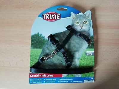 TRIXIE Cat Harness with Lead 4188 - Brand new in packet - Red