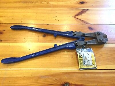 "Record High Tensile Bolt Cutters 924F clipper cut 7/16"" capacity"