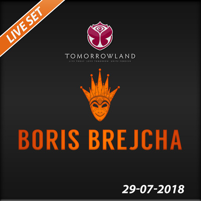 Boris Brejcha - Live @ Tomorrowland 2018 (Belgien) – 29-07-2018  –  AUDIO CD