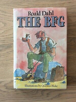 The BFG ~ Roald Dahl Reprint. Signed In Green Felt Tip