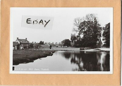 Early Real Photo Postcard Mill Dam, Tickhill Nr. Maltby & Doncaster E. Scrivens