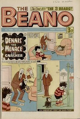 The Beano Comic #1680 September 28th 1974 - very good condition
