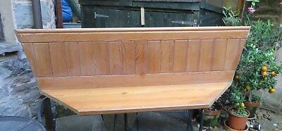 Part of Pitch Pine Pew - from kitchen seating arrangement - left over piece