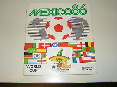 Panini Album WC Mexico 86 (1986) - 82 % complete Kicker