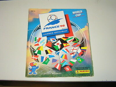 Panini Album WC France 98 (1998) - complete Kicker