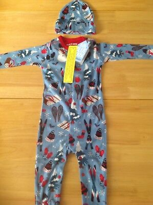 Little boys sleepsuit and cap by Hatley size 18 - 24 m