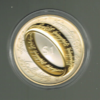 ++Lord of the Ring New Zealand 2003 Silber 925 Dollar Proof Coin++