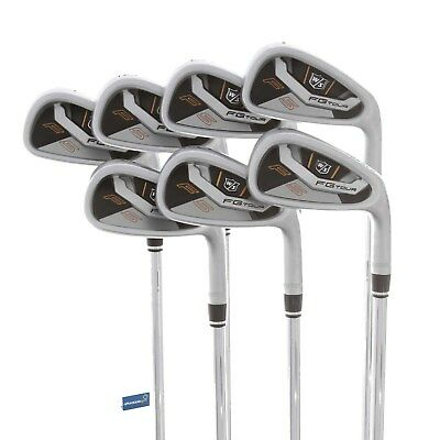 Wilson Staff FG Tour F5 Steel Irons 4-PW / Stiff Shaft Dynamic Gold XP S300