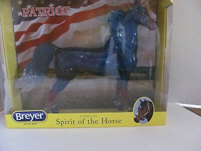 Breyer Patriot #1755  Clearware Saddlebred NIB