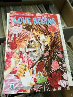 Love begins 3    Star Comics Giapponesi