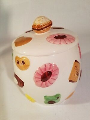 Vintage Lefton Napco 'Cookies' Cookie Jar. circa 1950's. Excellent Condition